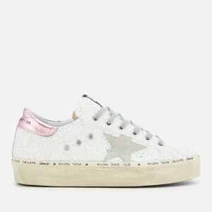 Golden Goose Deluxe Brand Women's Hi Star Trainers - Iridescent Glitter/Ice Star