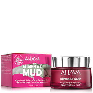 AHAVA Brightening & Hydrating Facial Treatment Mask -kasvonaamio 50ml