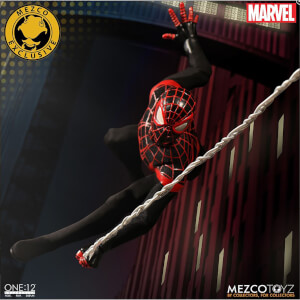Mezco One:12 Collective Miles Morales Spider-Man - NYCC 2017 Exclusive
