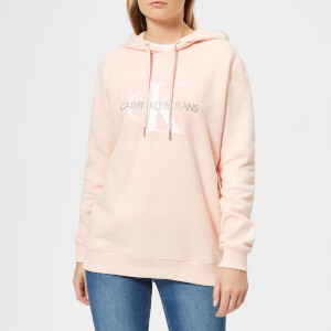 Calvin Klein Women's Monogram Box Relaxed Hoodie - Chintz Rose