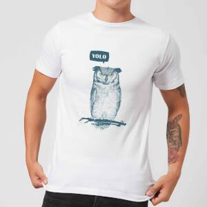 Balazs Solti YOLO Men's T-Shirt - White