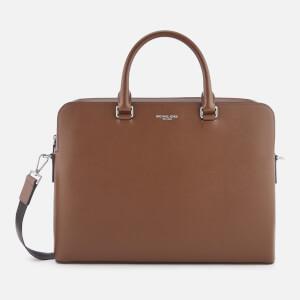 Michael Kors Men's Harrison Briefcase - Mocha