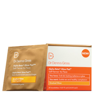 Dr Dennis Gross Skincare Alpha Beta Glow Pad - Gradual Glow (Pack of 20)