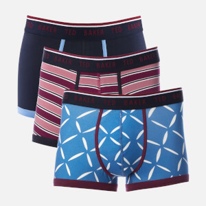 Ted Baker Men's Whosat 3 Pack Boxer Shorts - Assorted
