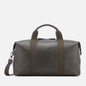 Ted Baker Men's Holding Leather Holdall Bag - Chocolate