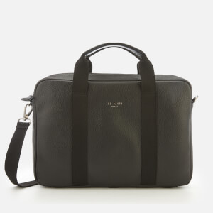 Ted Baker Men's Importa Leather Document Bag - Black