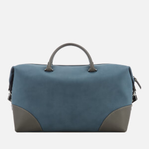 Ted Baker Men's Inferno Nubuck PU Holdall Bag - Blue: Image 2