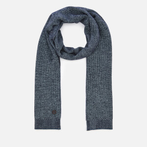Ted Baker Men's Redscaf Interst Stitch Scarf - Navy