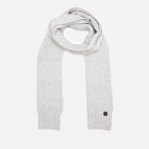 Ted Baker Men's Multee Multi Stitch Scarf - Light Grey
