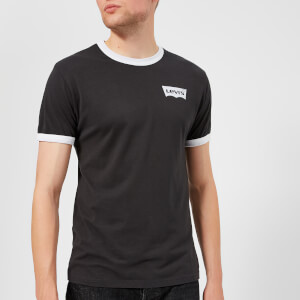 Levi's Men's Housemark Short Sleeve T-Shirt - Black/White