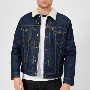 Levi's Men's Type 3 Sherpa Trucker Jacket - Rockridge Trucker Jacket