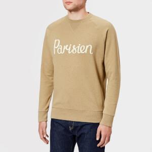 Maison Kitsuné Men's Parisien Sweatshirt - Beige Melange