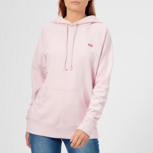 Levi's Women's Sportswear Hoody - Garment Dye to Lavender Fog