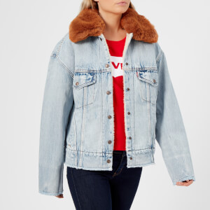 Levi's Women's Oversized Sherpa Trucker Jacket - Killing Me Softly