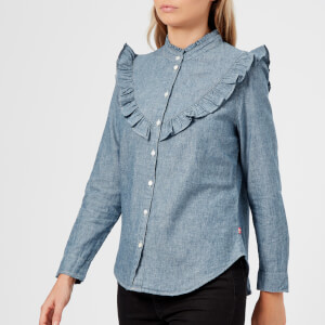 Levi's Women's Aleja Shirt - Medium Authentic