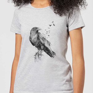 Birds Flying Women's T-Shirt - Grey