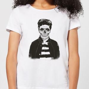 Balazs Solti Cool Skull Women's T-Shirt - White