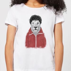 Balazs Solti Sporty Lion Women's T-Shirt - White