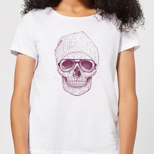 Balazs Solti Skull Women's T-Shirt - White
