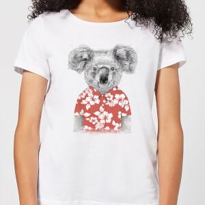Balazs Solti Koala Bear Women's T-Shirt - White