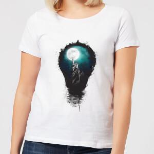 Balazs Solti NYC Moon Women's T-Shirt - White