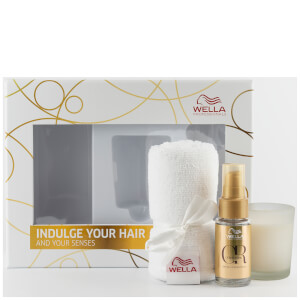 Wella Professionals Oil Reflections, Candle and Turban Bundle (Free Gift)