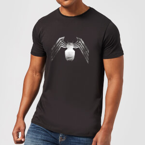 Venom Chest Emblem Men's T-Shirt - Black