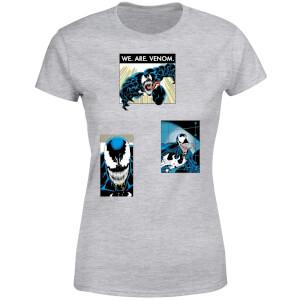 Venom Collage Women's T-Shirt - Grey