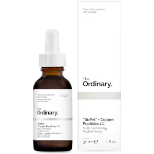 "The Ordinary ""Buffet"" + Copper Peptides 1% -peptidiseerumi"