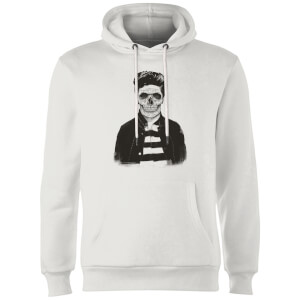 Balazs Solti Cool Skull Hoodie - White