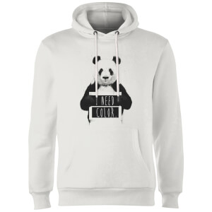 Balazs Solti I Need Color Hoodie - White