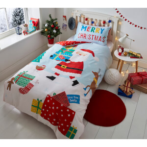 Catherine Lansfield Love from Santa Duvet Set