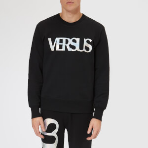 Versus Versace Men's Large Logo Sweatshirt - Black