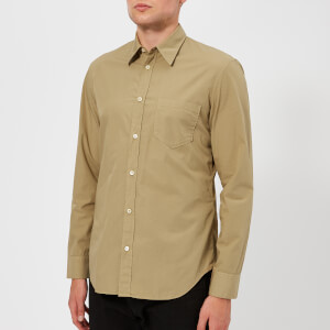 Maison Margiela Men's Garment Dyed Shirt - Beige