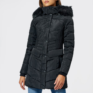 Superdry Women's Glacier Padded Parka - Black