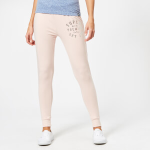 Superdry Women's Bella Loungewear Skinny Joggers - Rose Pink Marl