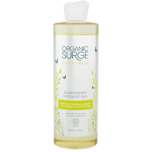 Organic Surge Super Fresh Awakening Shower Gel -suihkugeeli, 500ml