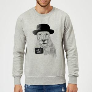Balazs Solti Say My Name Sweatshirt - Grey