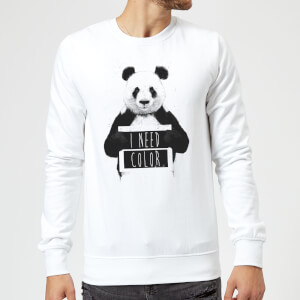 Balazs Solti I Need Color Sweatshirt - White