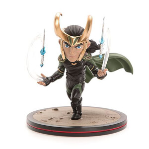 Quantum Mechanix Marvel Thor: Ragnarok Loki Q-Fig Figure