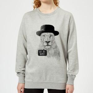 Say My Name Women's Sweatshirt - Grey
