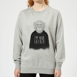 I'm Your Father Women's Sweatshirt - Grey
