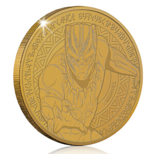 Marvel's Black Panther Verzamelmunt: Antiek Goud - Zavvi Exclusive Limited Edition