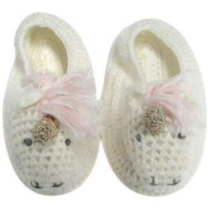 Albetta Crochet Unicorn Booties
