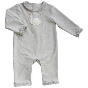 Albetta Crochet Swan Babygrow - 0-3 Months