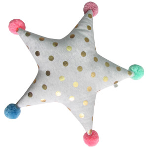 Albetta Star Cushion - Gold Spot