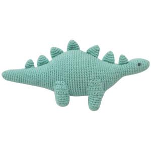 Albetta Crochet Dino Toy - Green - 0-3 Months