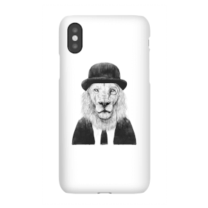 Balazs Solti Monocle Lion Phone Case for iPhone and Android