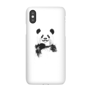 Balazs Solti Moustache And Panda Phone Case for iPhone and Android