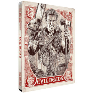 Evil Dead 2 - Zavvi UK Exclusive 4K Ultra HD Steelbook (Includes 2D Blu ray)